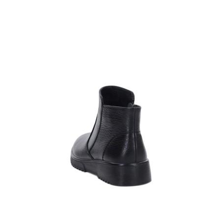 Носки шерстяные серые/черные