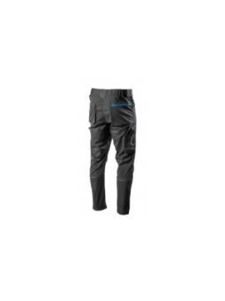 Кожаные pабочие перчатки, гладкие (кожа буйвола / ткань) на полуподкладке